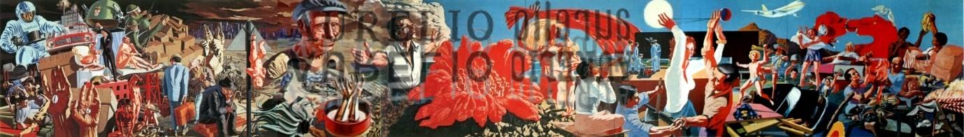 Aurelio C. - Murale Valenza - 1972