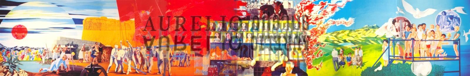 Aurelio C. - Murale Carpi - 1981