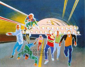 Aurelio C. - L'arrivo degli alieni - 1995