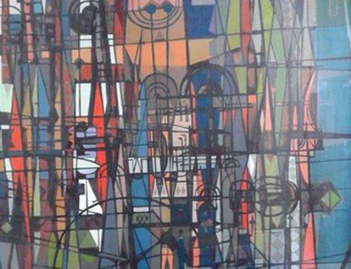 Tre dipinti di Aurelio C. degli anni '50